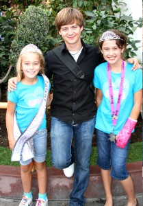 NAM Girls with Jason Earles from Hannah Montana.  Photo Credit: Brett Davis