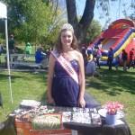 Emily Ramsey volunteering around town