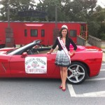 Miss Georgia Jennifer Mullins at Parade