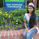 Shivali Patel working at Playground