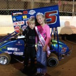 Faith Anne Yeley at the Speedway