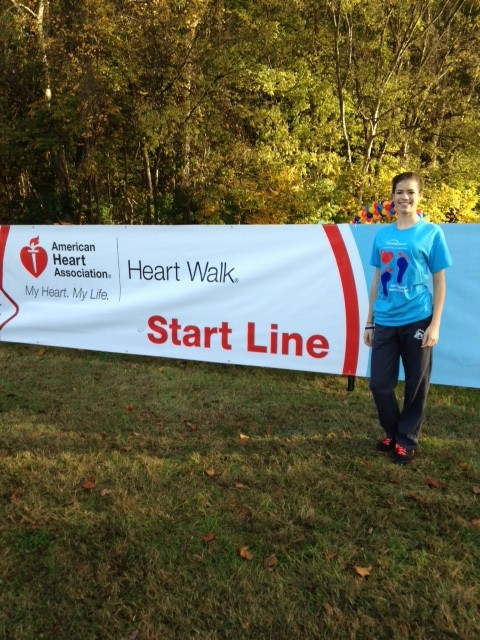 Abigail Satter at Heart Walk