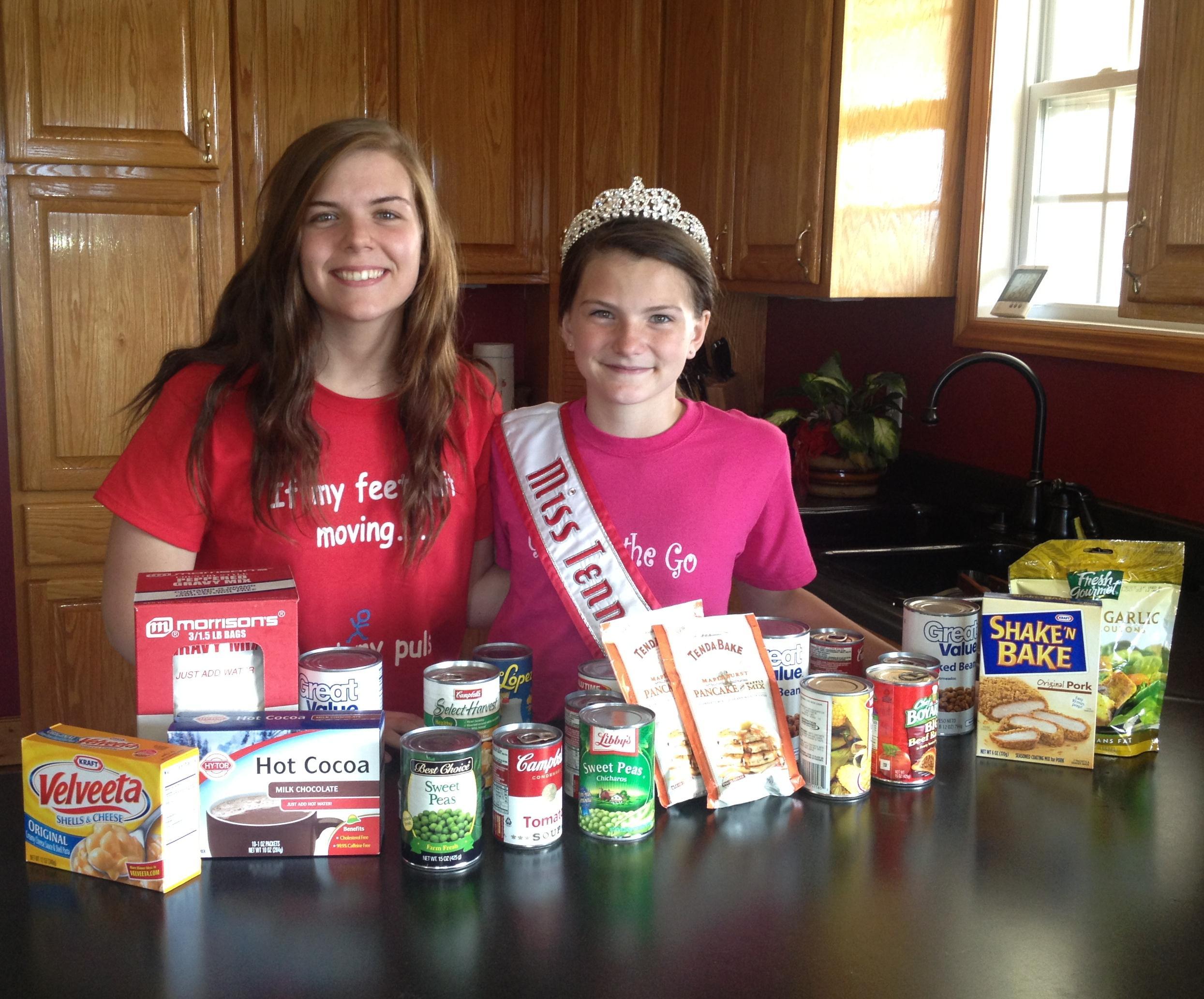 Miss Tennessee Pre Teen Second Harvest Food Dri Matt Leverton