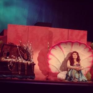 Sophia as Ariel!