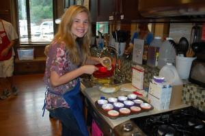 Ronald McDonald House cooking