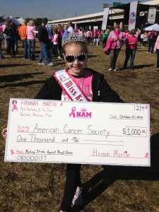 Hannah_Martin_KY_Jr_Preteen_Breast Cancer donation check