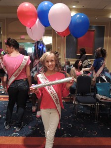 Brandi Alden -Crazy Hair and Spirit Stick Winner - Nationals 2013