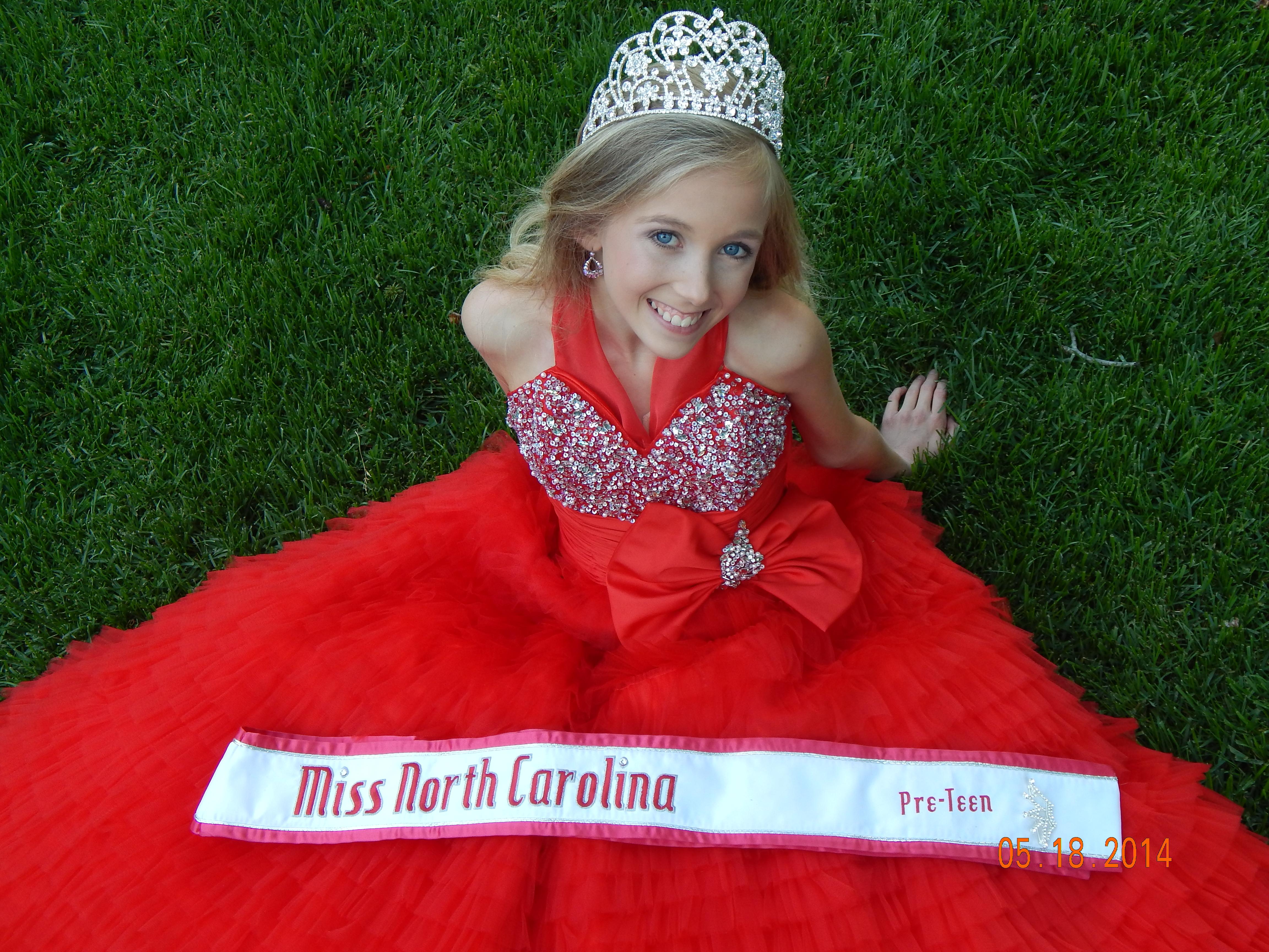 Royalty Letter from Brandi Alden, Miss North Carolina Pre-teen!
