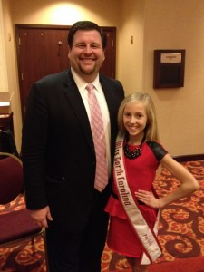 Brandi Alden with NC State Director Matt Leverton