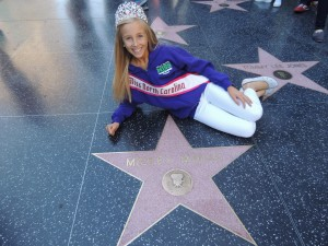 Brandi on the Hollywood Tour-Nationals 2013