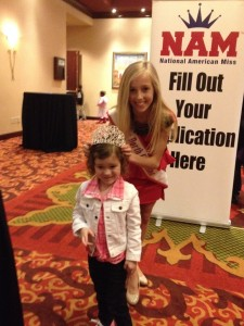 Crowning a future princess at the NC NAM Open Call