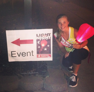 Miss_North_Carolina_Jr.Teen_Alexandria_Murphy_at_the_Light_the_Night_walk