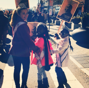 Miss_North_Carolina_Jr.Teen_Alexandria_Murphy_with_my_sister_queens_at_the_Martin_Luther_King_Jr_parade