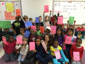 Cards for Safyre - With the help of students from Erwin Elementary, we were able to send 22 Christmas cards to Safyre Terry for her card tree.  Safyre's family was killed in a fire on May 2, 2013.  She was critically injured in the fire.