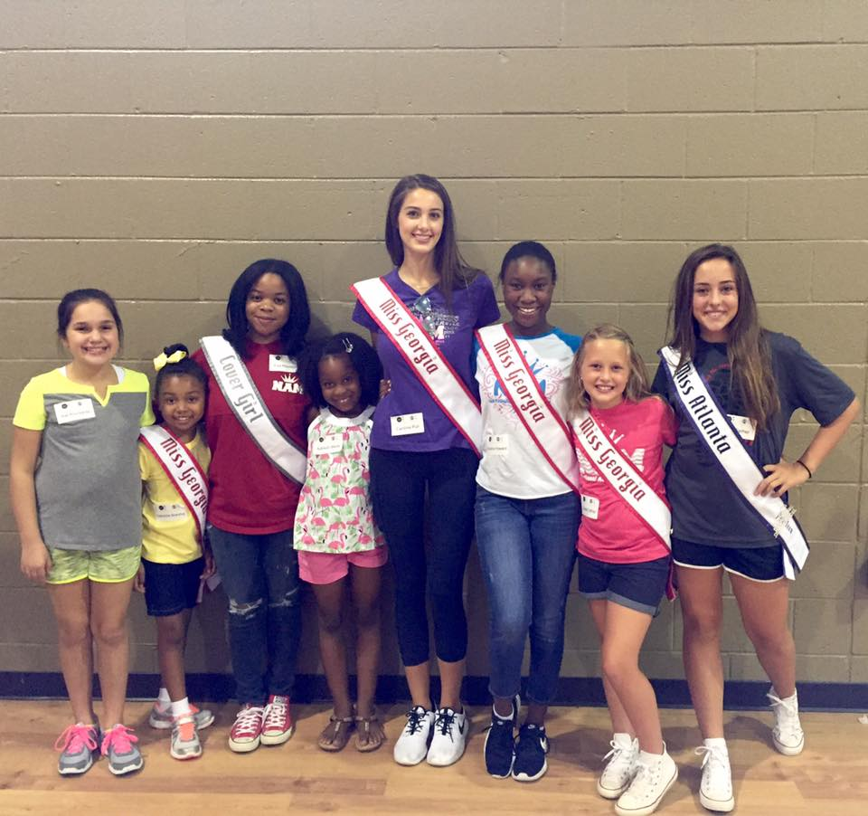 2016 Miss Georgia Jr. Pre-Teen Claudia Fether