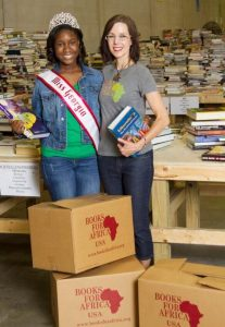 2016 Miss Georgia Pre-Teen Damacia Howard Books for Africa