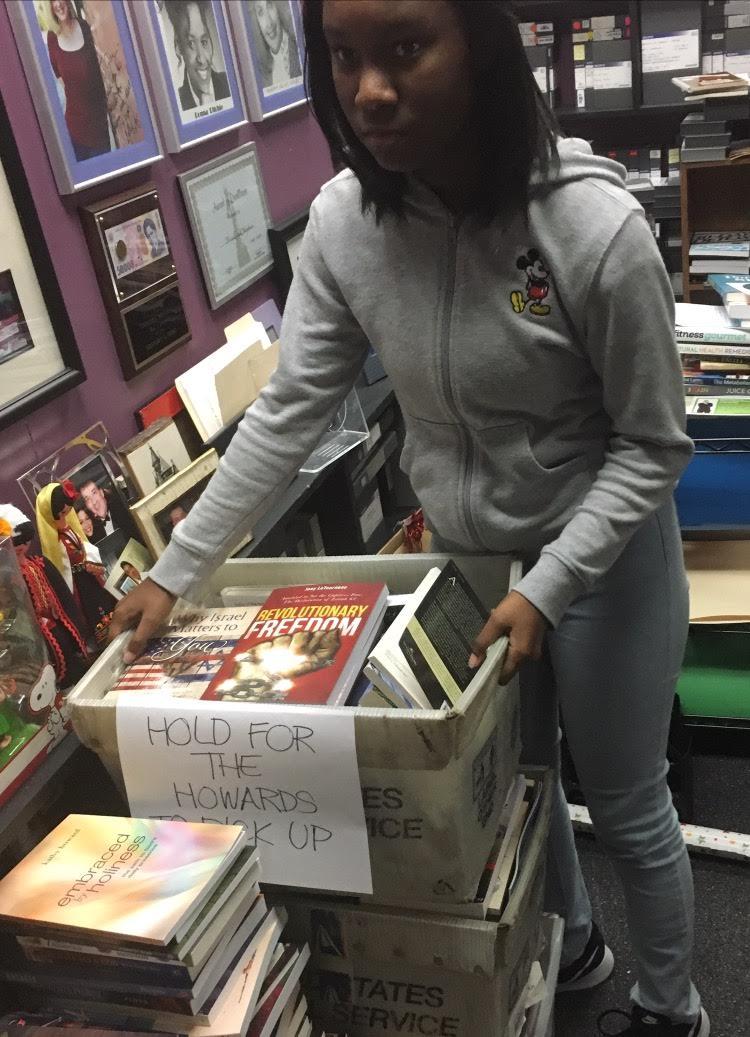 2016 Miss Georgia Pre-Teen Damacia Howard Books for Africa