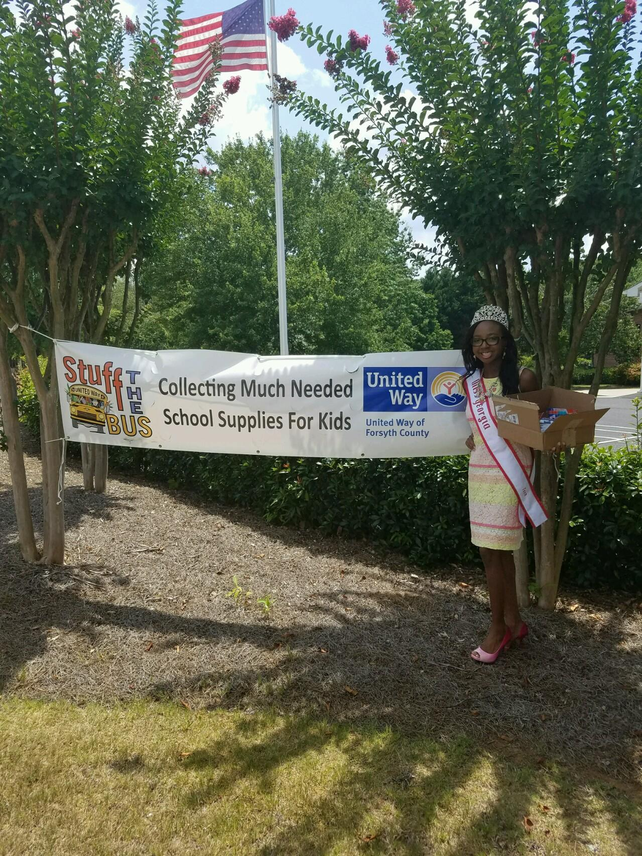 2016 Miss Georgia Teen Imani Johnson