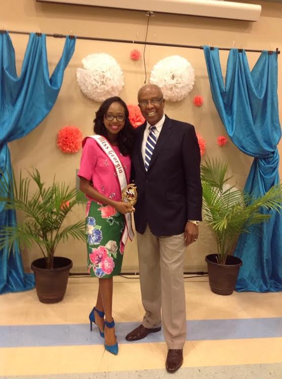 2016 Miss Georgia Teen Imani Johnson Pastor Banquet