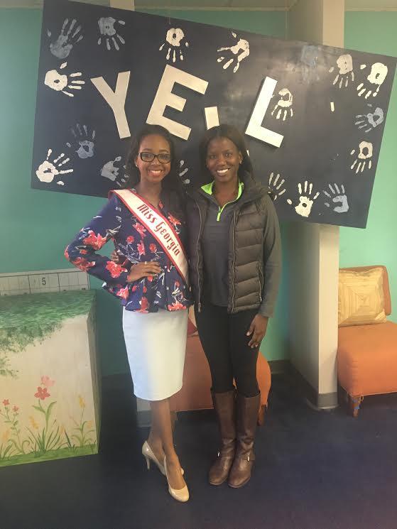2016 Miss Georgia Teen Imani Johnson Yells
