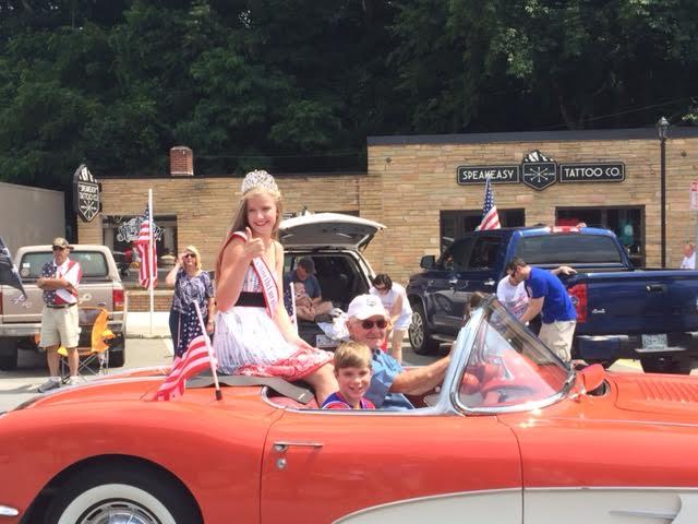 2016 North Carolina Jr. Teen Queen Campbell Lindquist Parade