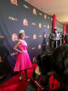 Damacia Howard Miss Georgia Pre-Teen Red Carpet