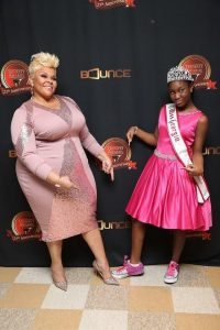 Miss Georgia Pre-Teen Damacia Howard and Tamela Mann