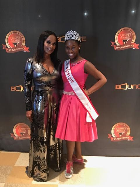 Miss Georgia Pre-Teen Damacia Howard and Vanessa Bell Calloway